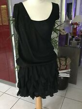 Robe LUI-JO taille 42/44 noire comme neuve