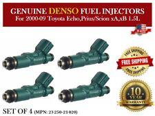 4x Fuel Injectors Denso OEM for 2000-09 Toyota Echo, Prius/ Scion xA,xB 1.5L I4