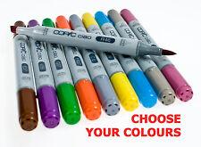 Copic Ciao Twin Tip Marker Pens ( All Colours - Codes E, R & Black)