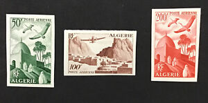 Algeria 1949 XF MLH Sc#C8-10 Missing C11 (W17)