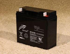 Ritar RT12180 - Brand new battery - 12v 18Ah cell