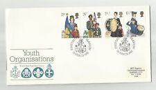 1982 UK 1st Day Scott# 983-986 - Youth ORganizations - Boy Scouts    stk#LB