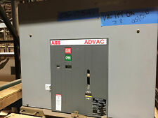 ABB Advac 2000 Amp Circuit Breaker 8.25 KV, 125 VDC close trip, 41KA,