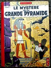 BLAKE ET MORTIMER T3 LE SECRET DE LA GRANDE PYRAMIDE 1956 POINT TINTIN PRESENT
