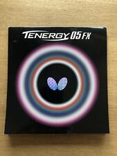 New listing Butterfly Tenergy 05 FX Table Tennis Rubber (Red - 2.1mm)