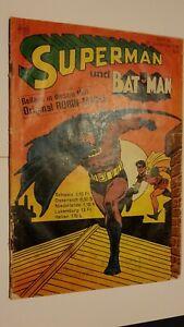 Supermann Nr.19 von 1967,Zustand 3-4,Ehapa,Comic,Superhelden,Sammlung,Vintage