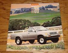 Original 1993 Toyota T100 Deluxe Sales Brochure 93 SR5 Pickup
