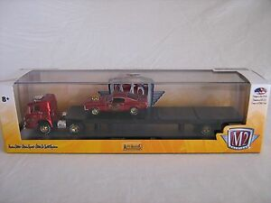 M2 Auto Haulers 1966 Ford C600 & '66 Mustang Fastback 427 Release 21