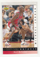 MICHAEL JORDAN 1992-93 Upper Deck Jerry West Insert #JW4 Chicago Bulls Mint