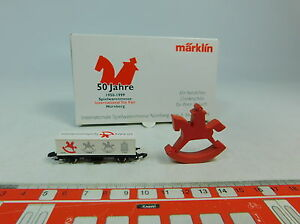 AU583-0,5 # Märklin Mini Club Z / Dc Container Load Car Toy Fair 1999,Mint +Box