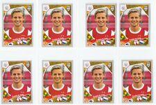 2017-18 Panini FIFA 365 Frenkie de Jong Ajax ROOKIE STICKER INVEST LOT (10) 🔥