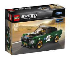 BNIB LEGO Speed Champions 1968 Ford Mustang Fastback 2018