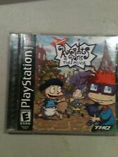 Play Station 1   Rugrats in Paris The Movie