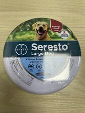 Bayer Seresto Flea & Tick Collar for Large Dog over 18lbs, 8 Month