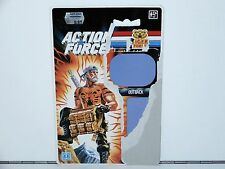 1990 GI JOE TIGER FORCE OUTBACK UK / EURO EXCLUSIVE FILE CARD CARDBACK NORDIC