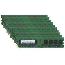 10pcs Samsung 2GB DDR2 800MHz PC2-6400U 240PIN RAM CL6 DIMM intel CPU Memory #6H