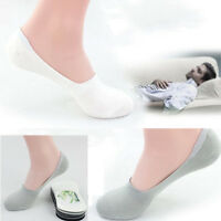2016 Men Silicone Breathable Slip Off Shoe Shallow Mouth Solid Color Boat Socks