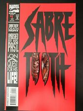 🐾 SABRETOOTH #1 (1993 MARVEL Comics) VF/NM Book