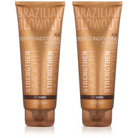 Brazilian Blowout Acai Deep Conditioning Masque for Unisex, 8 Oz (2 Pack)