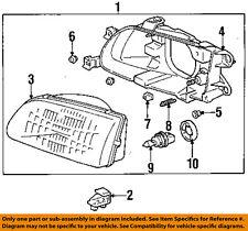 TOYOTA OEM 95-96 Tercel-Headlight-Head light Headlamp Assy Right 8111016550