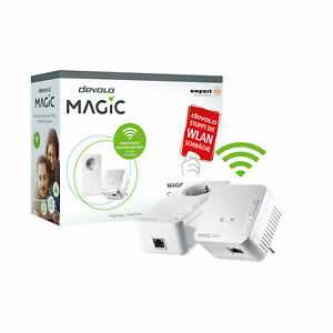 devolo Magic 1200 mini Starter Kit Wlan Verstärker Mesh-Wlan Powerline Adapter