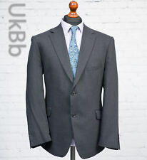 M&S Collection Charcoal Grey Wool Blend Suit Jacket Single Breasted 44S