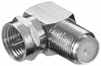 Right angle bent f connector 90 degree screw on male to female SKY
