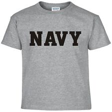 US NAVY Military Physical Training PT Gear Crossfit Workout Exercise T Shirt XL