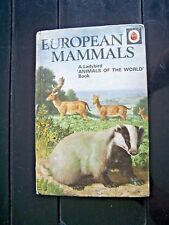 BOOK, LADYBIRD, EUROPEAN MAMMALS, ANIMALS, CHILDREN'S, VINTAGE