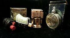 Vintage Avon Cologne bottles Wagon Liberty Bell Dollar Barrel Coin Bottle