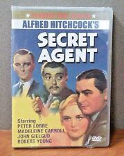 Secret Agent    (DVD)   Alfred Hitchcock    BRAND NEW