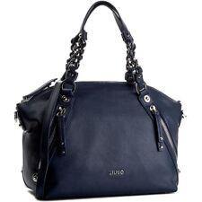 LIU JO Damen Tasche Handbag LIU JO LAVANDA Boston Dress Blue Shopper mit Zip