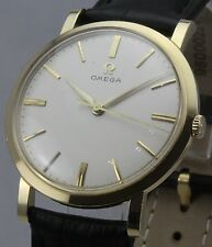 Vintage 1960 solid 18ct gold Omega presentation wristwatch.Cal 520.Outstanding.