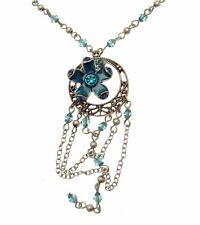 Necklaces For Woman Blue Fashion Necklaces Blue Necklaces Floral Necklaces