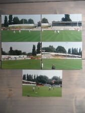 More details for northwich victoria football club 5 x ground photos last game @ drill field 2002