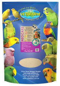 VETAFARM Neocare 10kg Hand Rearing Bird Food for All Parrots Baby Birds Chicks