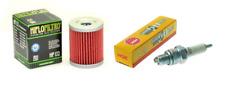 Tune up Kit Oil Filter NGK Spark Plug Suzuki King Quad 300 Quadrunner 250 LT-F