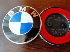 3D Emblem fits:BMW 82mm Blue/White Front Hood 51147057794 F10F11.
