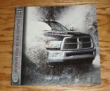 Original 2011 Dodge Ram Truck Enthusiast Sales Brochure 11
