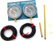 New Motorcycle Carb Carburettor Vacuum Balancer Gauge 2 Cylinder Gauge Balancing