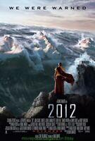 2012 MOVIE POSTER ORIGINAL SS 27x40 FINAL STYLE NEAR MINT JOHN CUSACK 2009 FILM