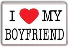 I love my boyfriend Fridge Magnet Valentines day gift