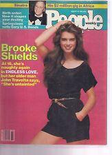 People Magazine Brooke Shields August 10, 1981