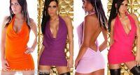 Miniabito Vestitino Donna Abito Vestito 4WORLD A886 Tg Unica veste S/M