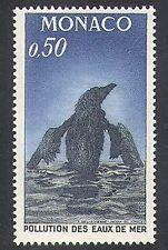Monaco 1971 Birds/Pollution/Environment/Conservation/Sea/Oil 1v (n37950)