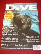 BSAC - DIVE MAGAZINE - PREHISTORIC SHARKS - Jan 2002