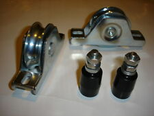Sliding Gate Wheels With Guide Rollers (One Set)