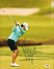 Yani Tseng Signed Auto'D 11X14 Photo Poster Psa/Dna Coa T58934 Lpga Tour