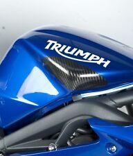 R&g Racing De Fibra De Carbono Tanque deslizadores para caber Triumph 675 Street Triple 2007-2012