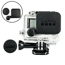 Protective Lens Cap Cover + Housing Case Cover Waterproof for Gopro HD Hero 4/3+